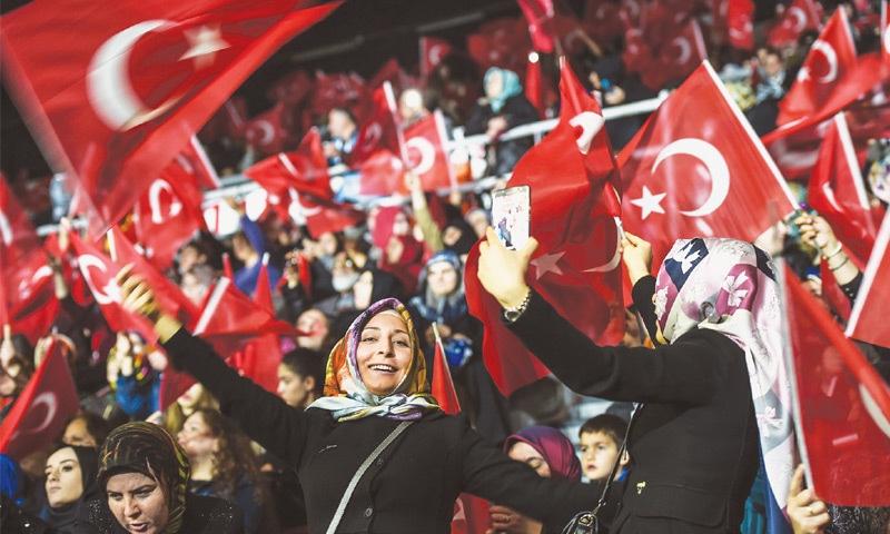 Erdogan likens German govt's behaviour to Nazi regime's
