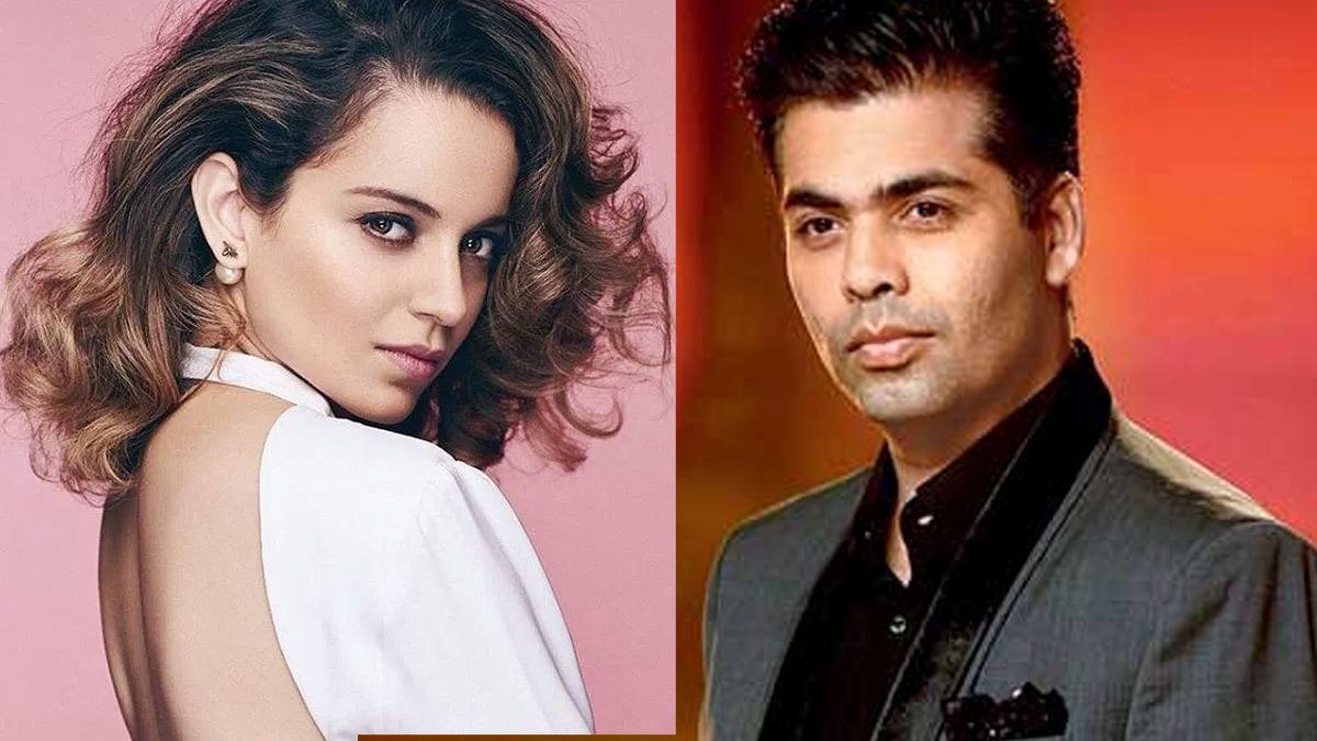 Kangana Ranaut called out Karan Johar for nepotism and he's not happy