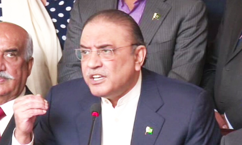 Zardari announces PPP's 9 recommendations for military court extension