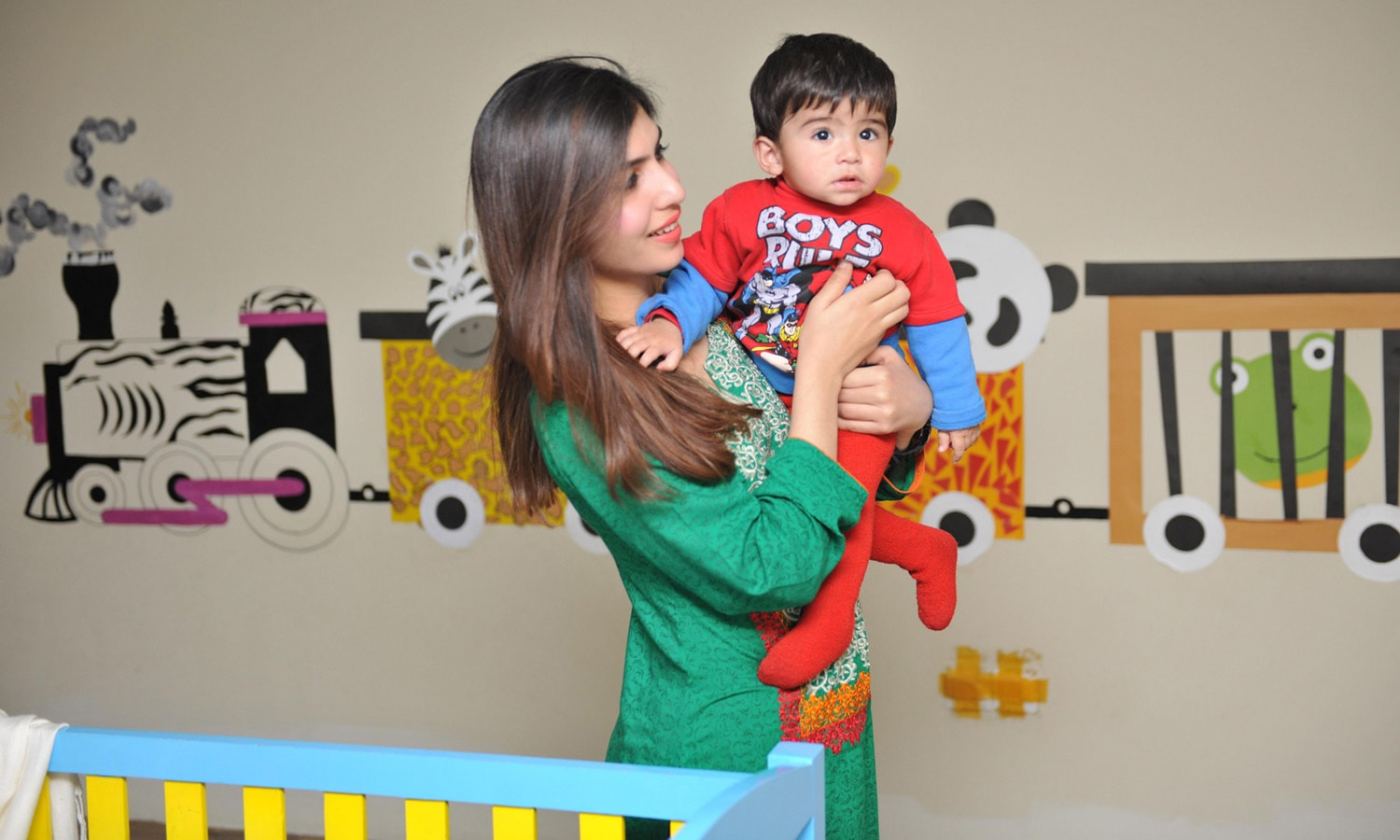 Telenor Pakistan's day-care centre at their Islamabad head office. — Courtesy Telenor Pakistan