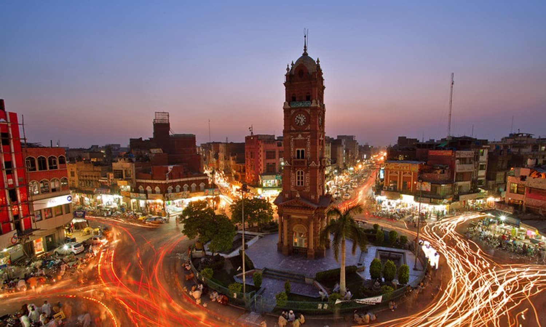 Faisalabad: A buzzing industrial town. (Pic: Awais Yaqoub)