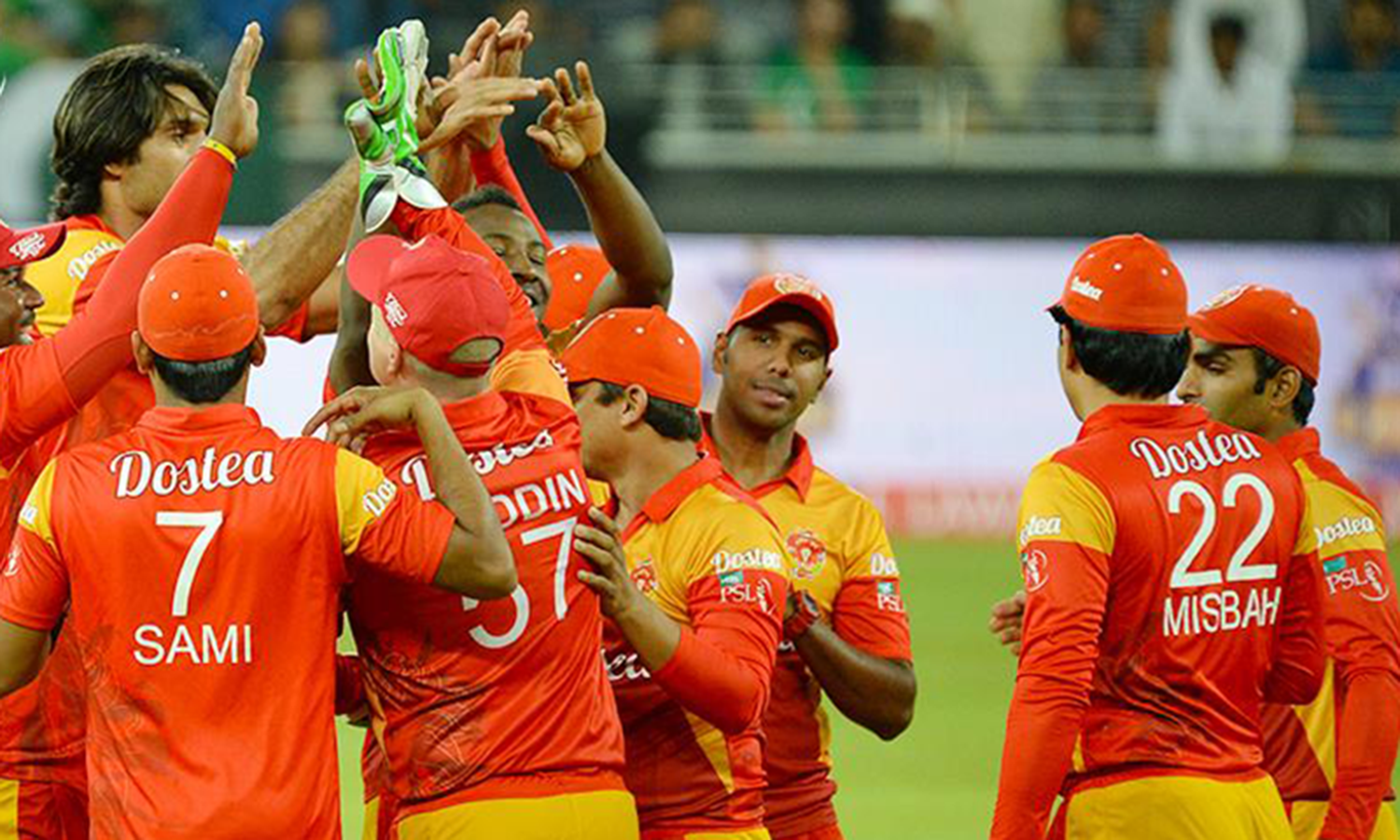 Islamabad's premier league team, Islamabad United. The total worth of the team is $15 million. (Pic: Pak Tribe)