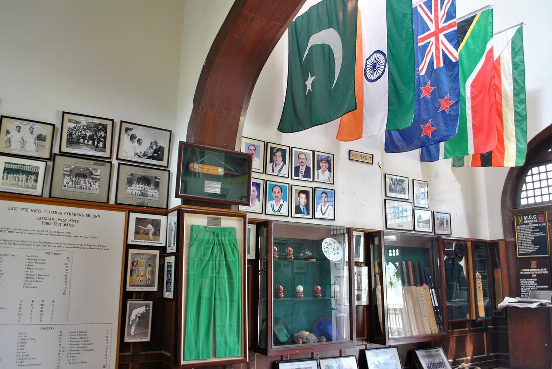 The cricket museum at Bagh-e-Jinnah. (Pic: Aown Ali)