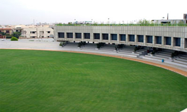 ڈی ایچ اے کرکٹ اسٹیڈیم. (تصویر: M. Shoaib)