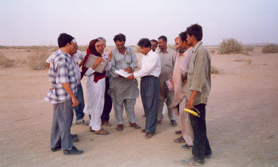 The OPP director was documenting encroachments on government land in Gadap and elsewhere. — Photo courtesy OPP