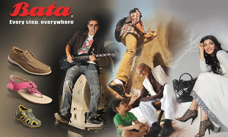 Branding Bata: Bata has launched its first full fledged corporate campaign.