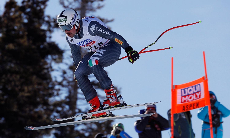 مردوں کے مقابلوں کے لیے اٹلی کے پیٹرفل نے بھی ٹریننگ بہترین انداز میں مکمل کی—فوٹو: رائٹرز