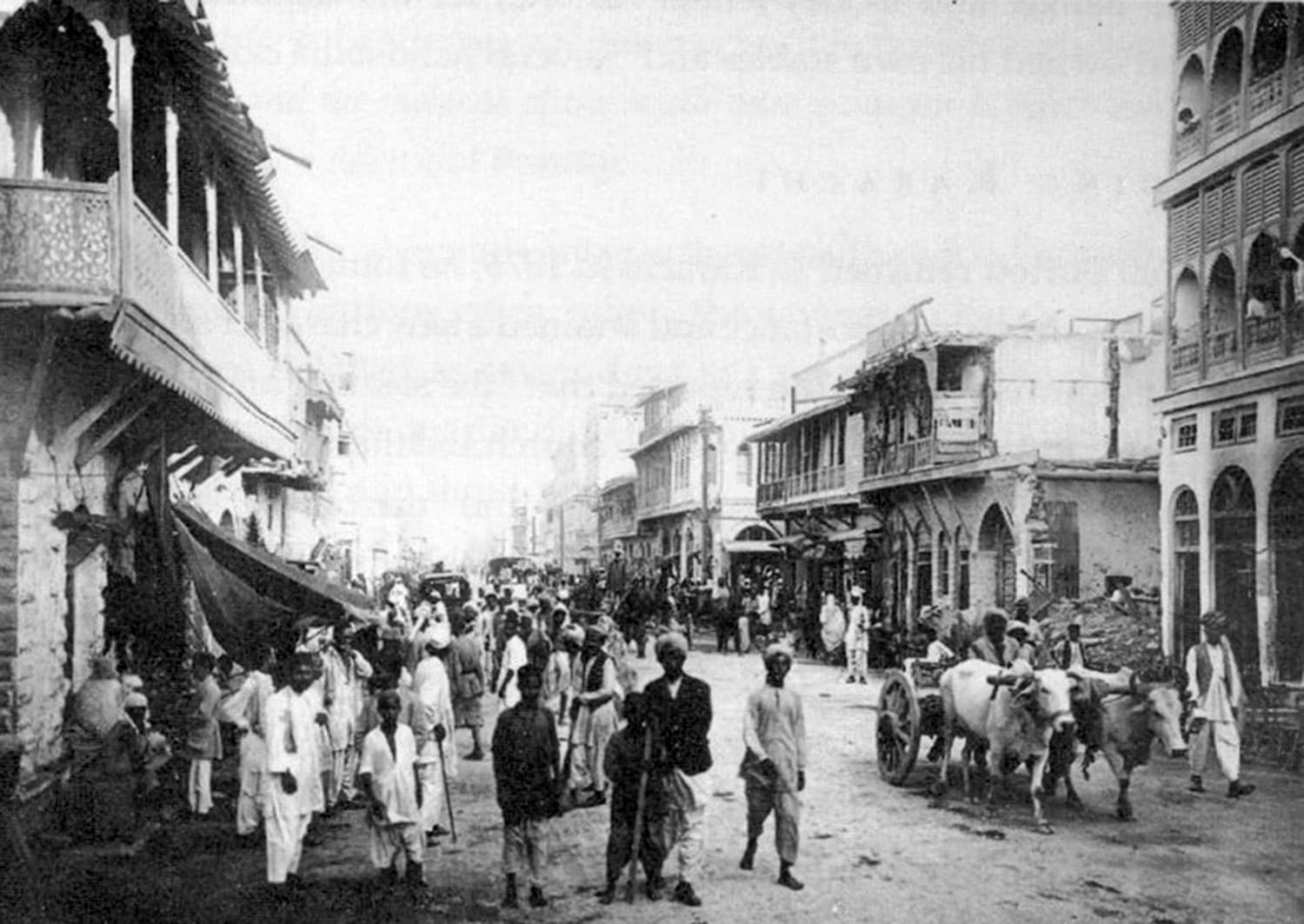Karachi in 1880. The city had a major sanitation problem. (Photo: Native Pakistan)