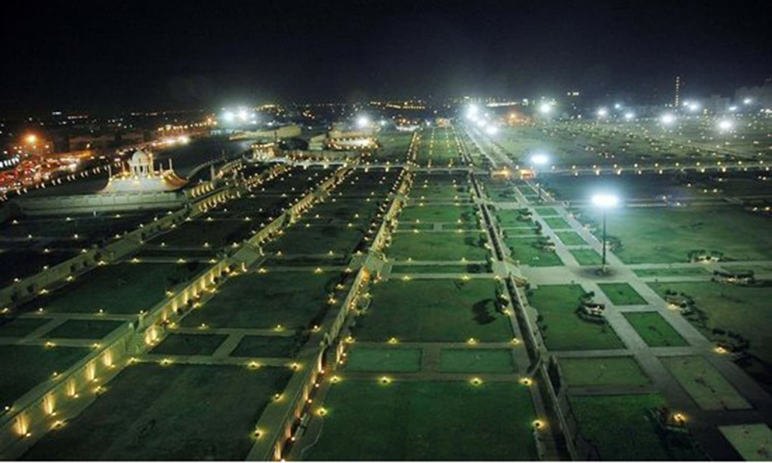 A massive park was laid in Karachi's historic recreational area, Clifton, by the Musharraf regime. (Photo: File photo)