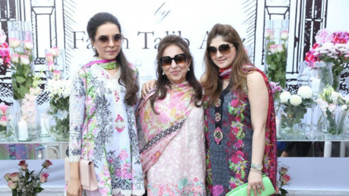 Farah Talib was the latest to have a lunch n' brunch