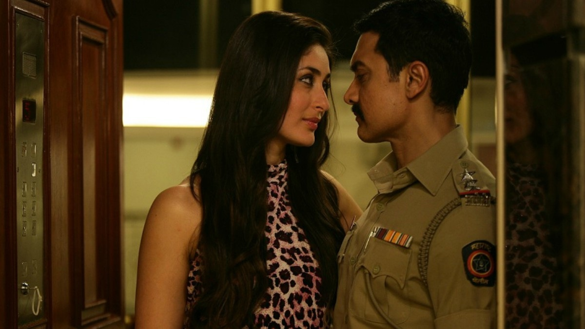 Kareena Kapoor and Aamir Khan in Talaash (2012)