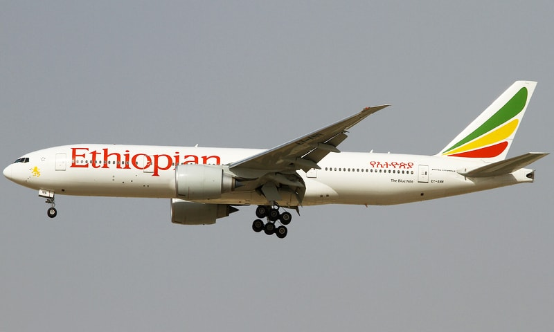 Ethiopian Airlines plane makes emergency landing in Lahore after brawl