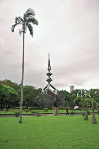 The 228 Massacre Monument in Taipei commemorates the victims of February 28, 1947 when thousands of Taiwanese civilians were violently suppressed by the ROC government in the aftermath of a dispute between a cigarette vendor and an officer of the Tobacco Monopoly Bureau. — Wikimedia Commons