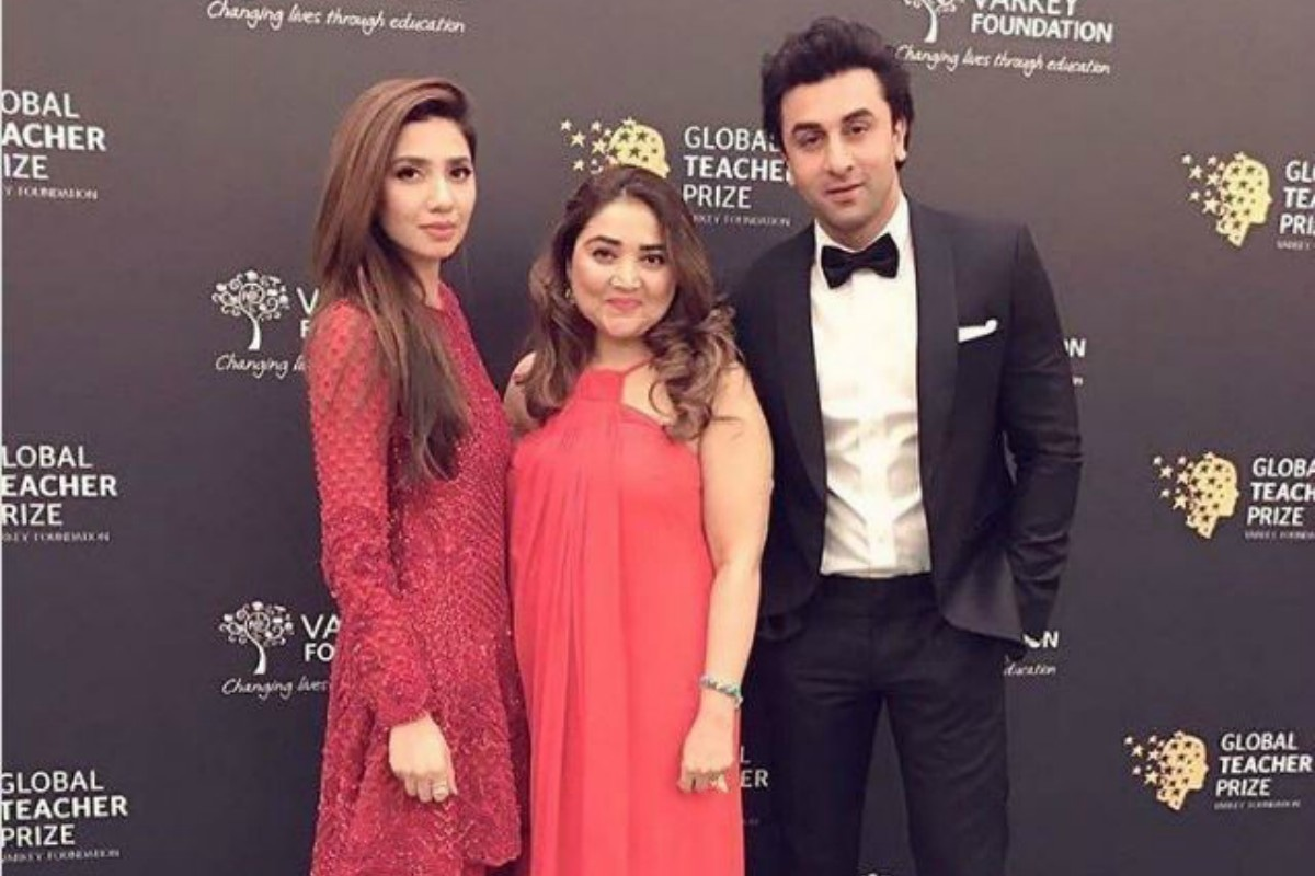 Mahira Khan, Huma Adnan and Ranbir Kapoor snapped on the red carpet.