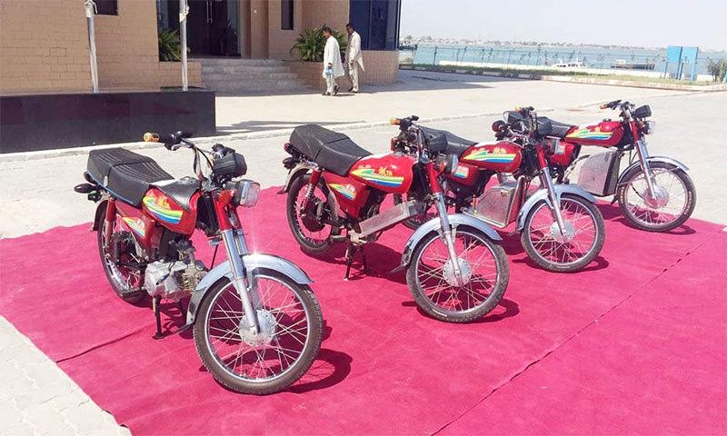 پاکستان کی تیار کردہ پہلی الیکٹرک موٹرسائیکل