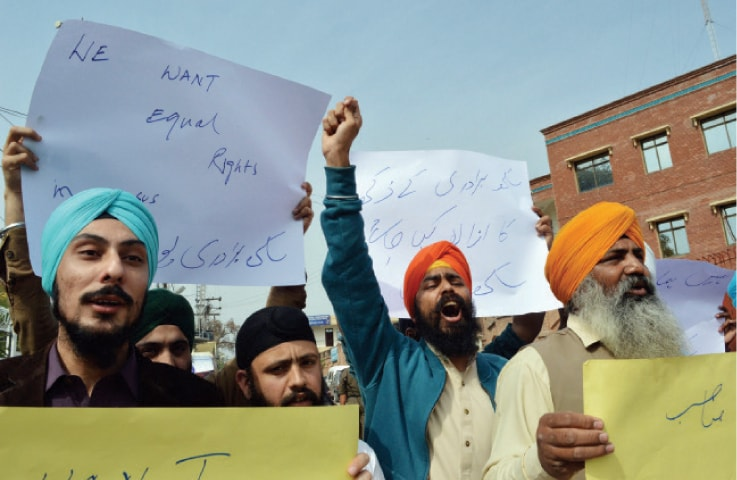 Pak Sikhs resent no separate boxes in census forms