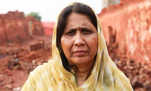 Bonded labour activist Syeda Ghulam Fatima.— Photo courtesy: Humans of New York