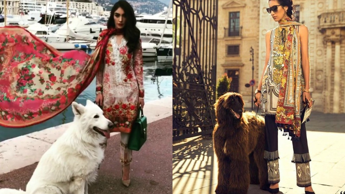Guess we're still big on fur this season. (From L-R: Farah Talib Aziz and Elan 2017 campaign)