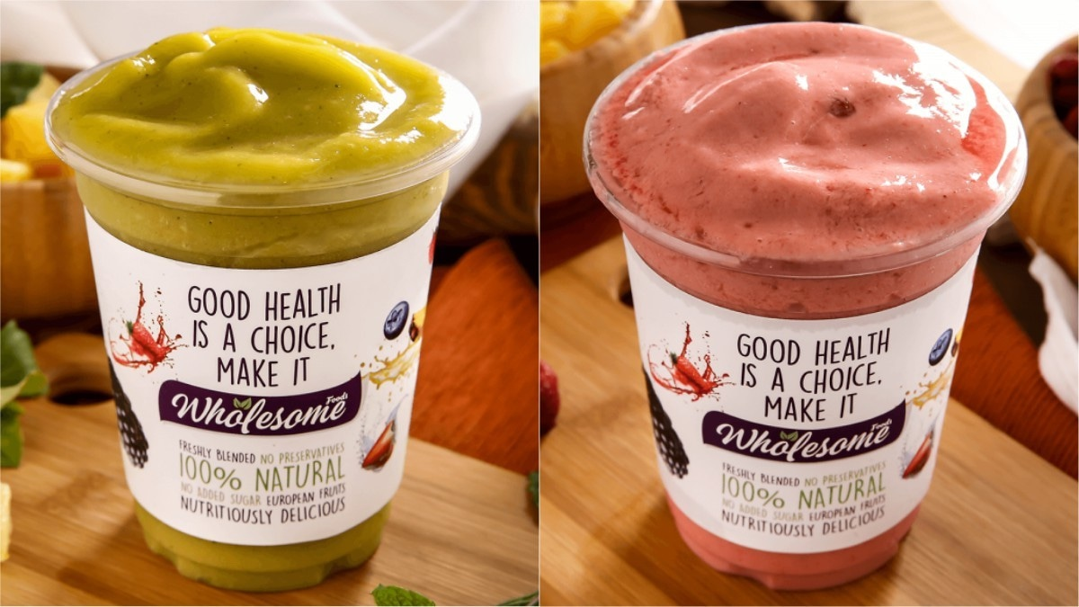 Weekend grub: Wholesome Foods brings nutritious smoothies right to your doorstep