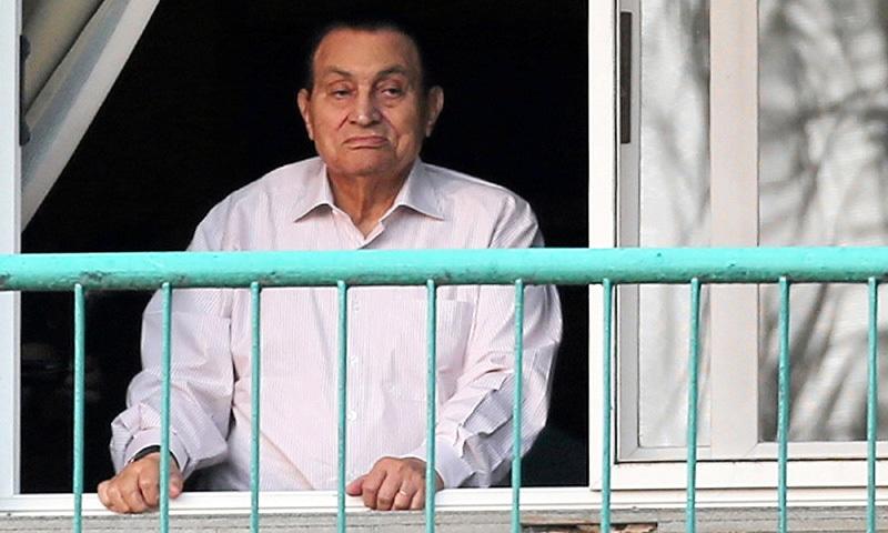 Ousted Egyptian president Hosni Mubarak freed from detention: lawyer