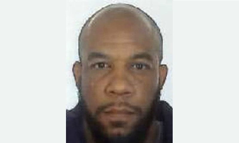 A handout picture released by the British Metropolitan Police Service shows Khalid Masood (aka Adrian Elms, Adrian Russell Ajao). -AFP