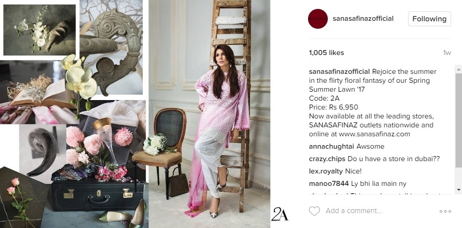 "Sana Safinaz invites you to ""rejoice the summer"""
