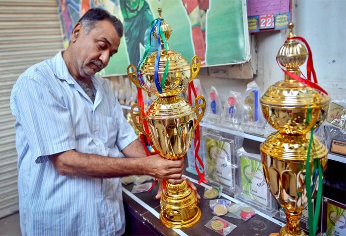 Khalid Aftab in his shop | Photos by Fahim Siddiqi/White Star