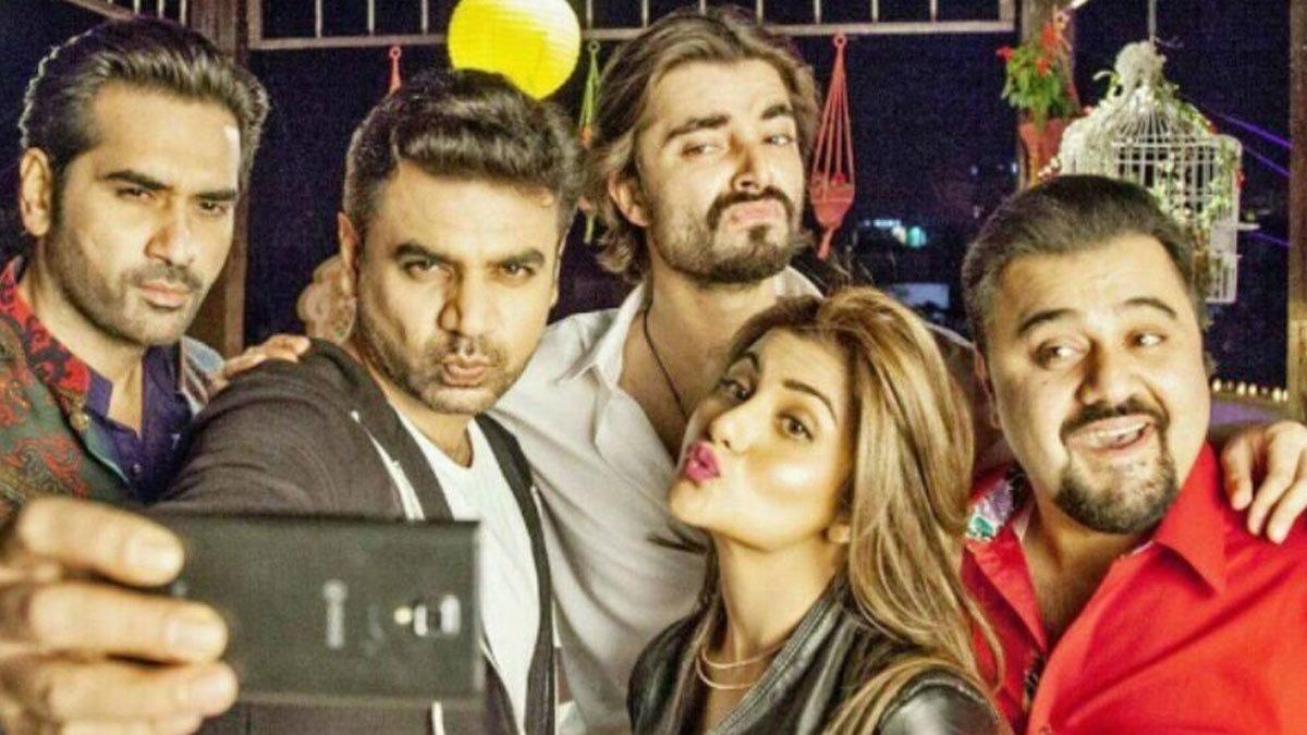 Jawani Phir Nahi Ani cast.