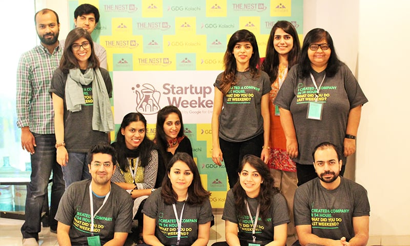 Nest i/o hosts Startup Weekend Karachi 2017