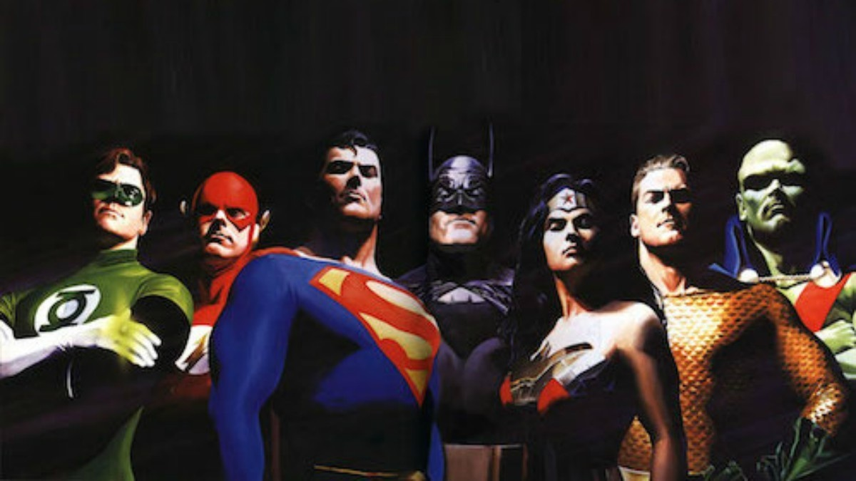 Green Lantern was in the original Justice League team AND the new one