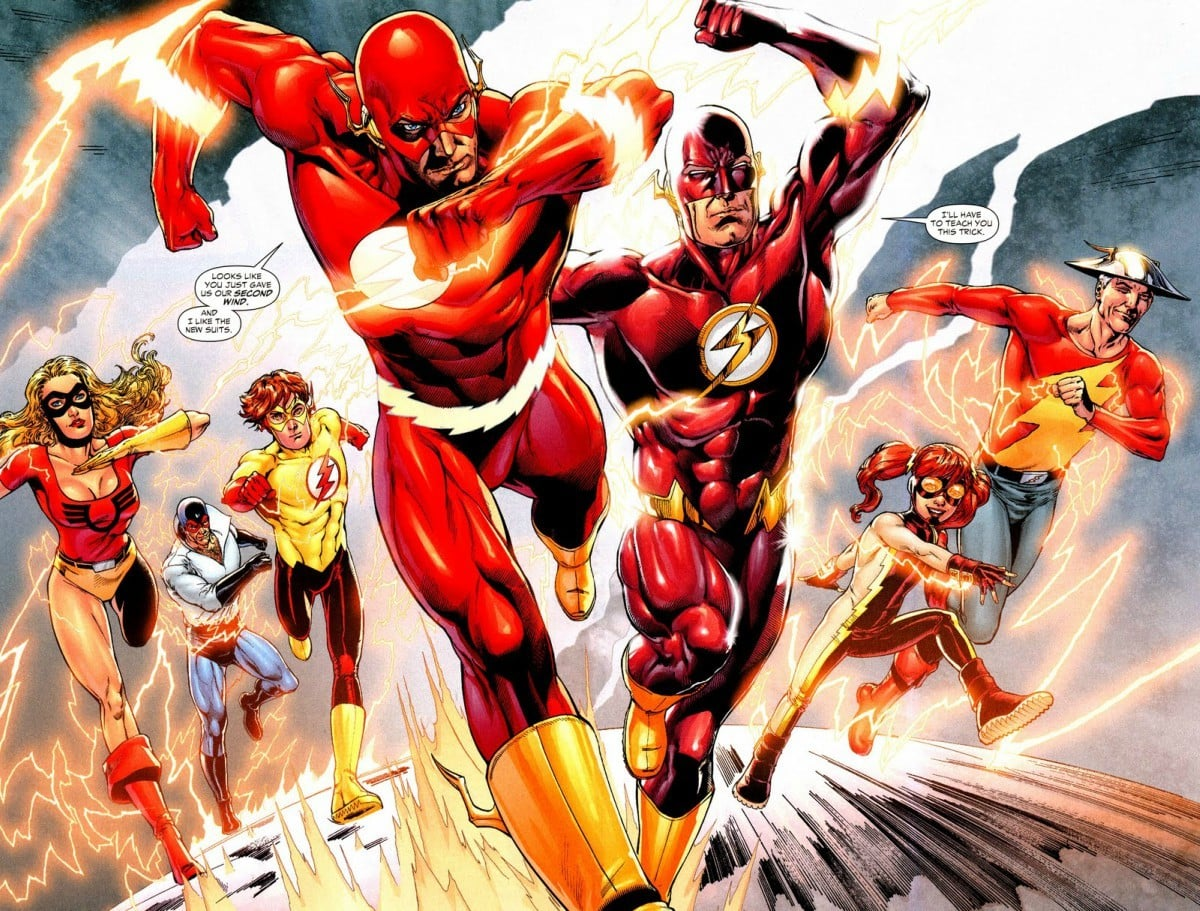 There's a huge Flash family, take your pick!
