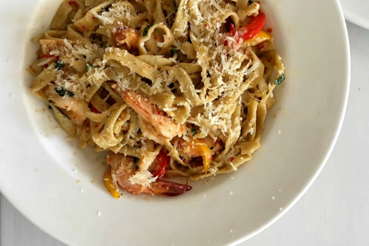 The fettuccine was my favourite, and I don't even eat pasta much!
