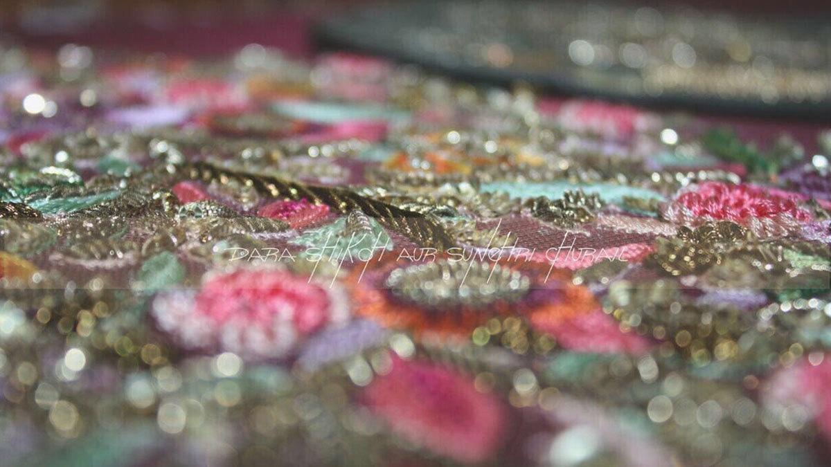 sneak peek at Fahad Hussayn's bridal collection showcasing at BCW '17.