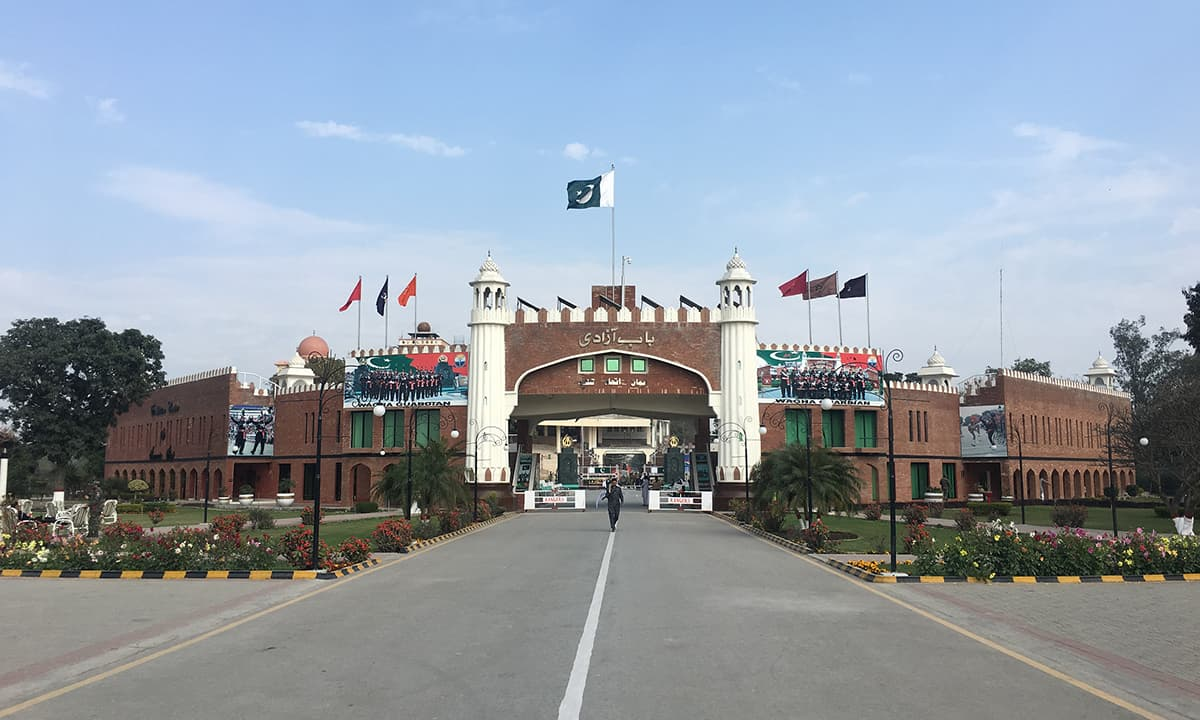 Wagah border | Photo by Fahad Shah