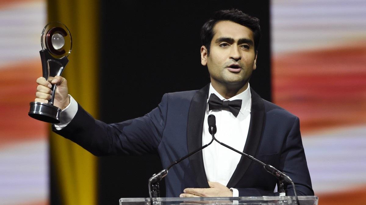 Kumail Nanjiani wins CinemaCon's Comedy Star of the Year Award