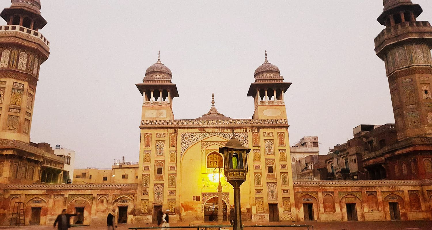 Wazir Khan mosque was the first mosque I ever visited. Not bad for a first!