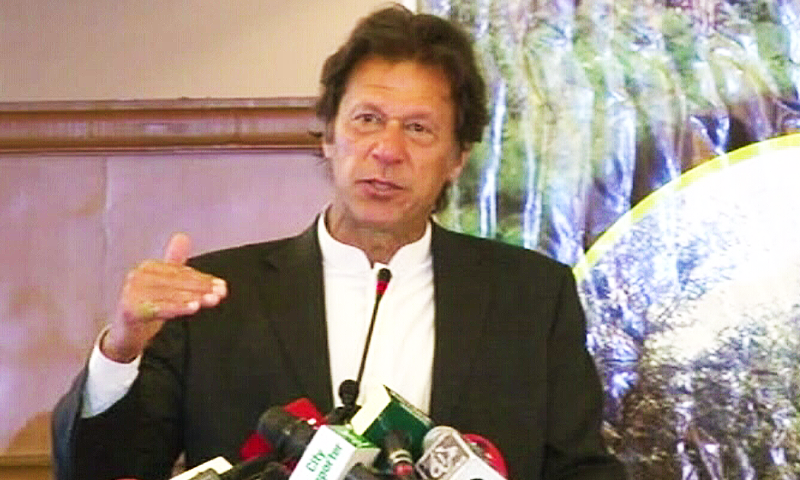 Good news that COAS stands by democracy, Imran says after meeting Gen Bajwa