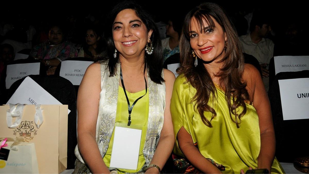 Frieha forms one of Pakistani showbiz's oldest triad with PR maven Fareshteh Aslam (pictured) and stylist Nabila