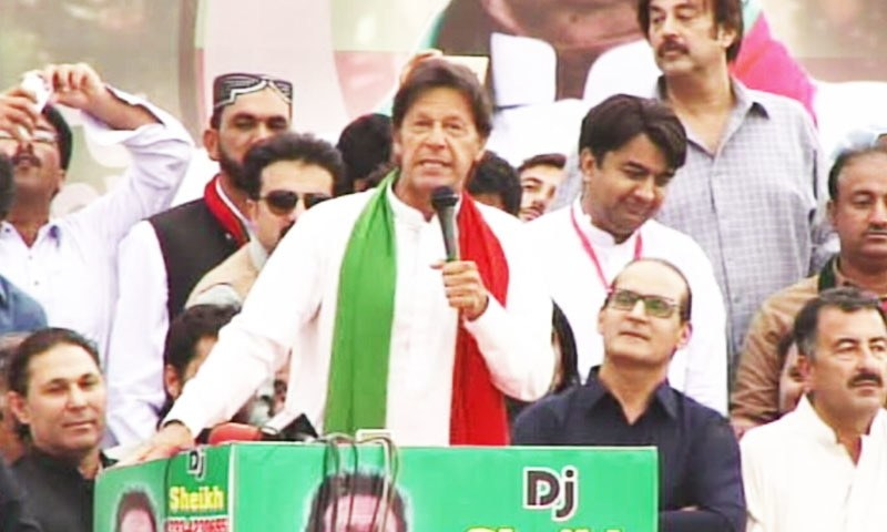 Imran Khan criticises removal of AD Khawaja as Sindh police chief
