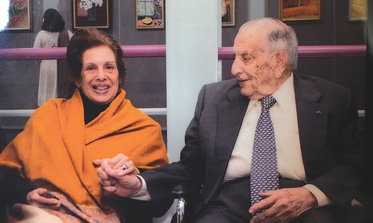 Marker with his wife | Courtesy Jamsheed Marker