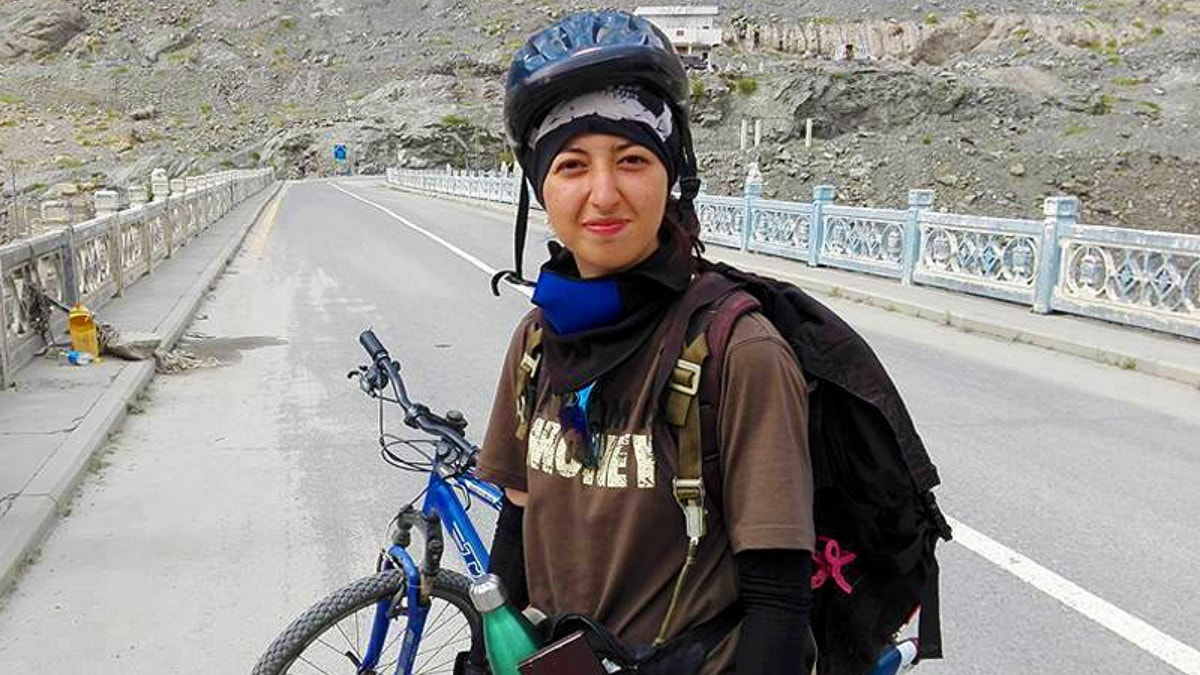 I chose to cycle on Biafo to draw attention to Pakistan's glaciers, says Samar Khan