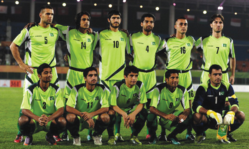 Pakistan become Asia's lowest-ranked football team