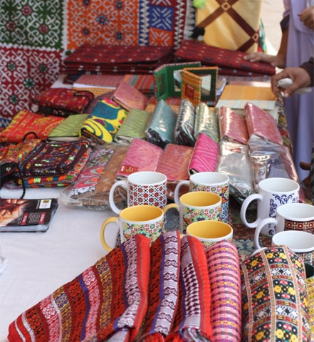 Handicrafts of Sindh on display | Photos by the writer