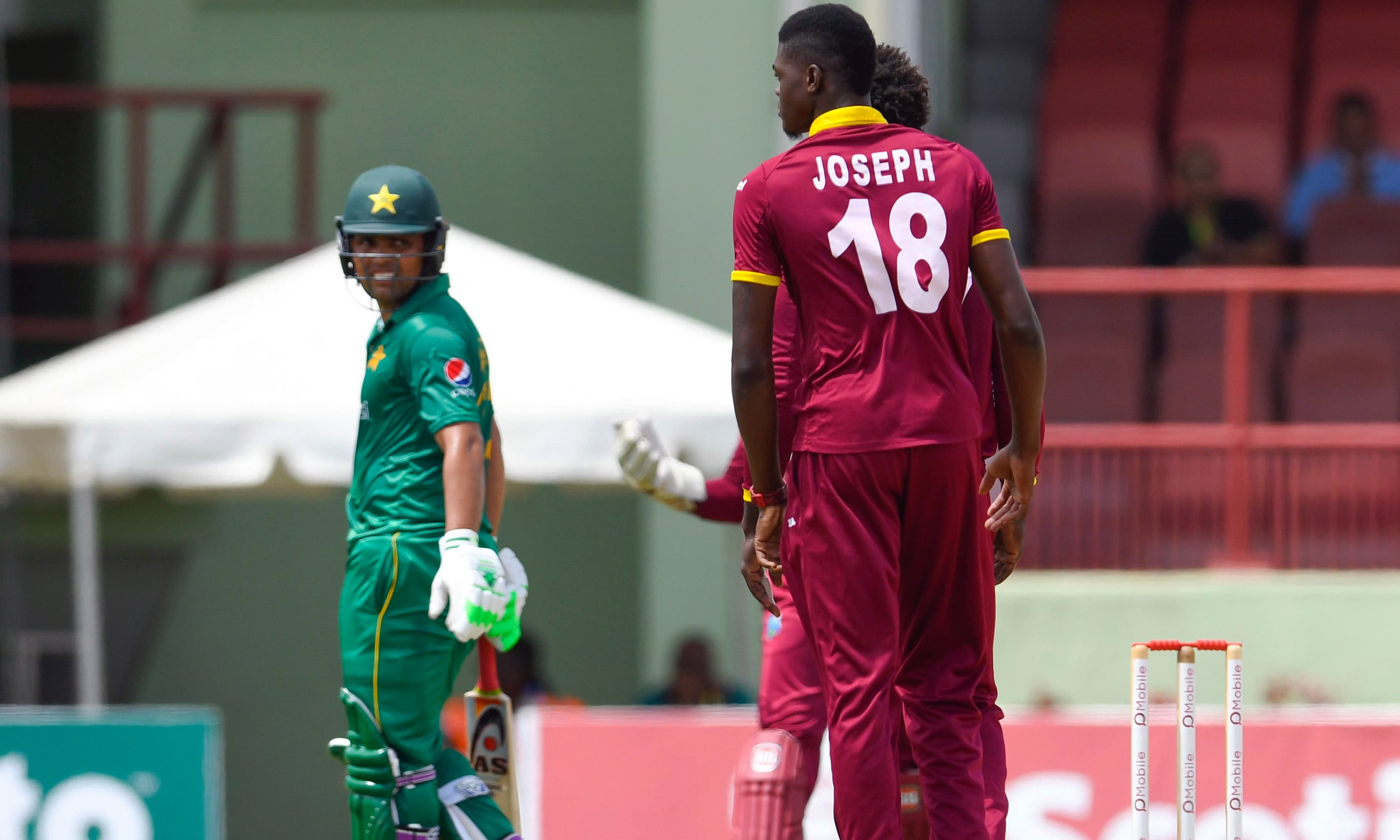 pakistan bounce back to beat windies level series pakistan
