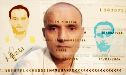 Who is Kulbhushan Jadhav?