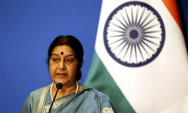 India will go out of its way to save Jadhav from death row: Swaraj