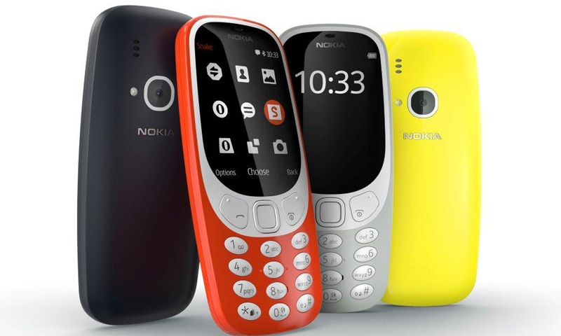 The re-launched Nokia 3310 will come in four colours and with a few design changes.