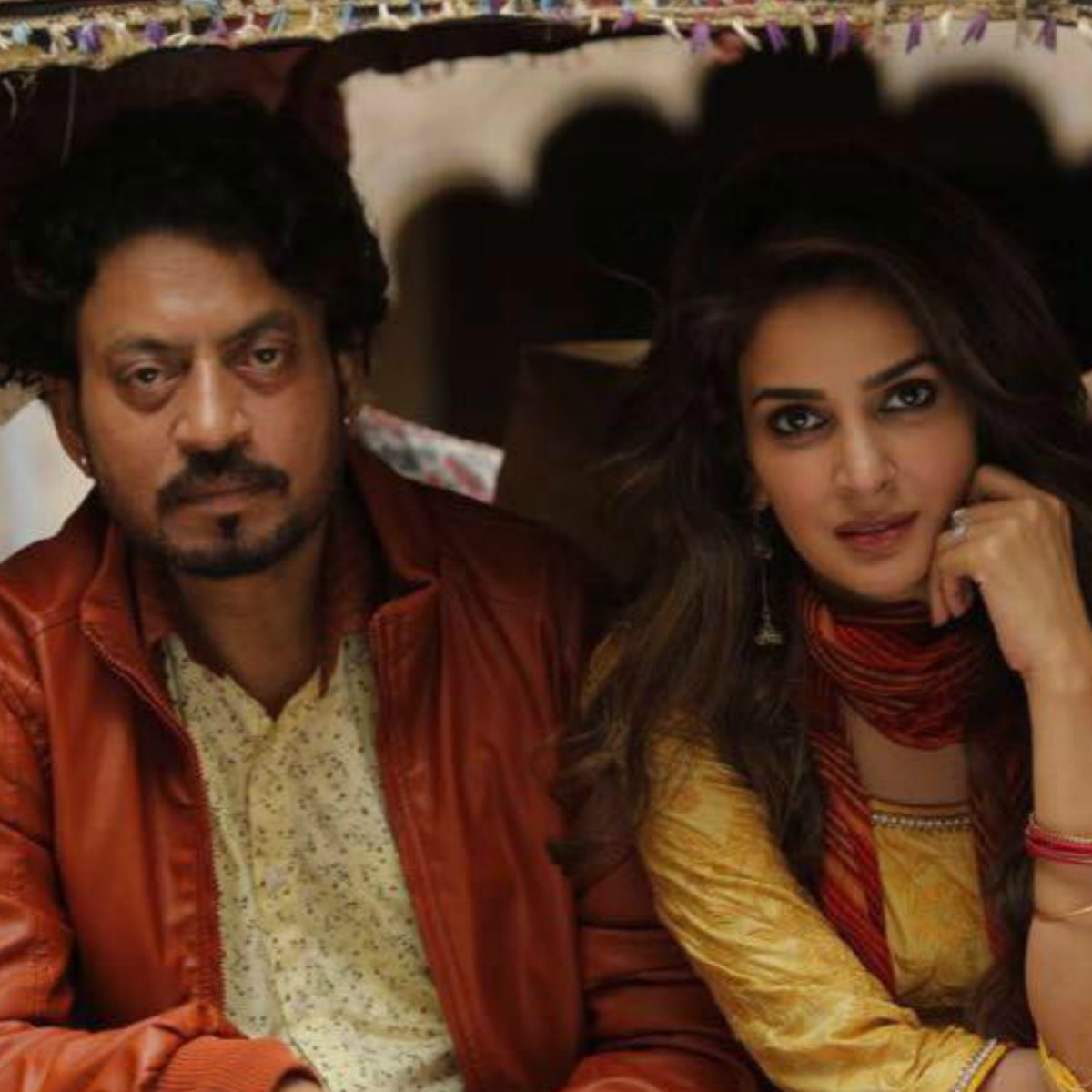 Irrfan Khan and Saba Qamar play a married couple in Hindi Medium