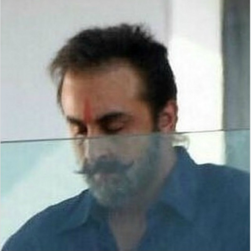 Ranbir Kapoor as Sanjay Dutt in the later years of his life