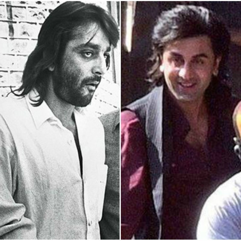 Ranbir Kapoor as a young Sanjay Dutt